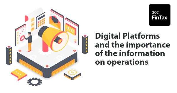 Digital Platforms and the importance of the information on operations