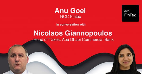 Tax Talk with GCC FinTax - Nicolaos Giannopoulos