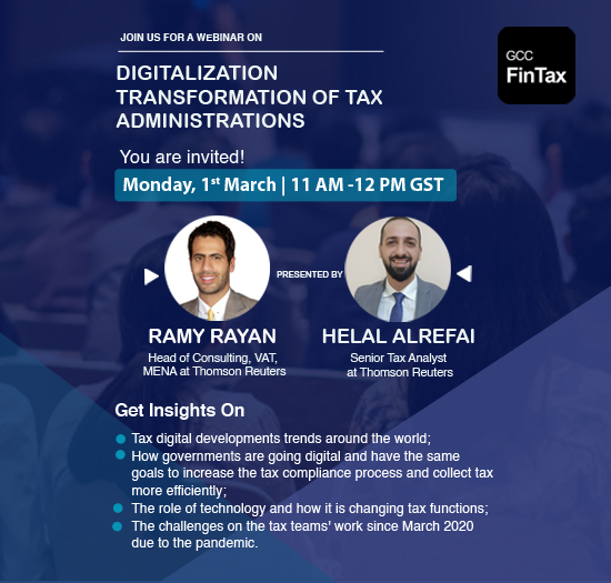 Digitalization Transformation of Tax Administrations